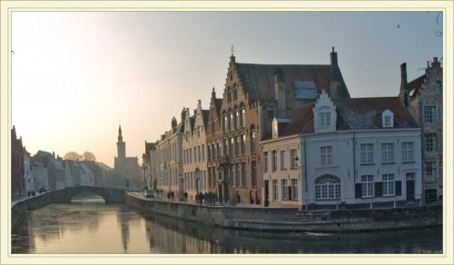 Le long des canaux de Bruges